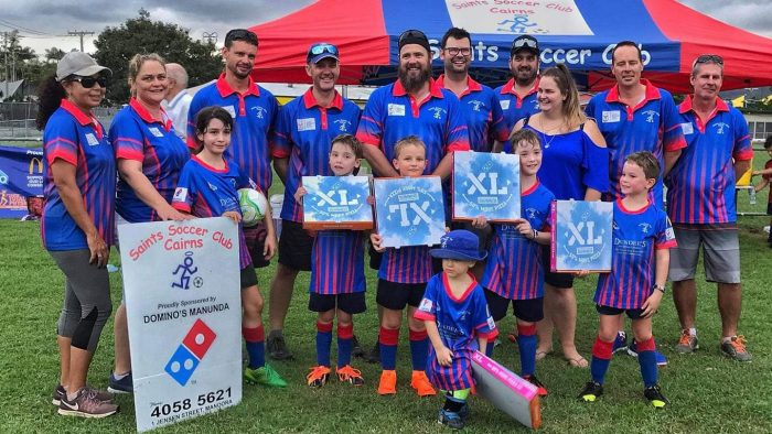 Saints Soccer Cairns 2019 Committee